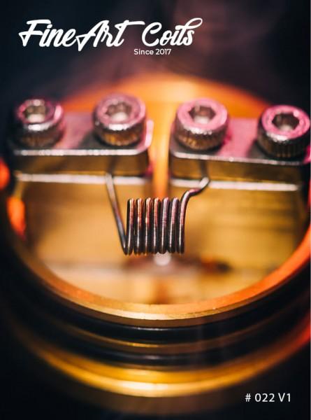 Handmade Coil #022 MTL Clapton V1