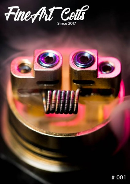 Handmade Coil #001 Fine Fused Clapton