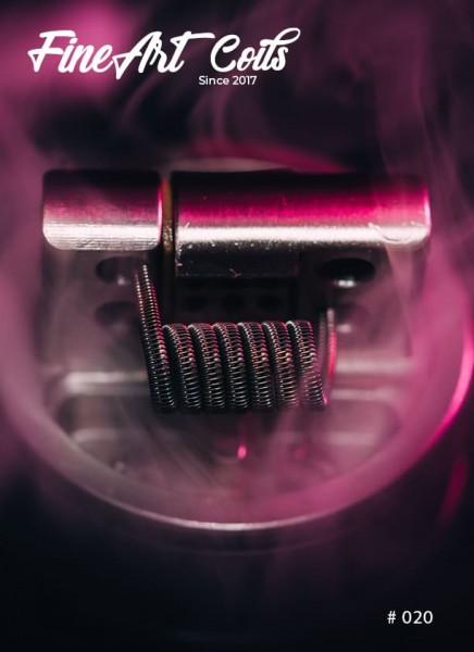 Handmade Coil Brunhilde #020 Half Staggered Fused Clapton